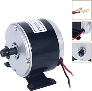YaeTek 24V Electric Motor Brushed 250W 2650RPM Chain For E Scooter Drive Speed Control