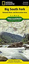 Big South Fork National River and Recreation Area (National Geographic Trails Illustrated Map (241))