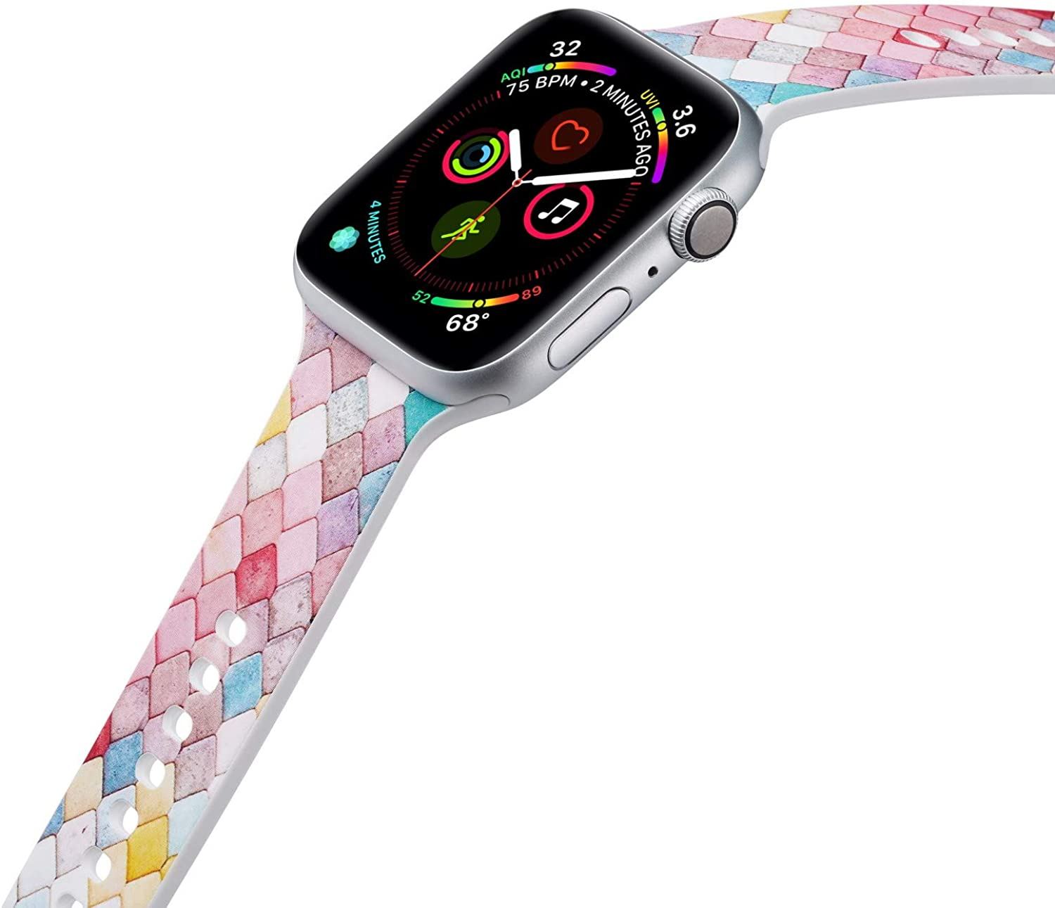 New sales Sports Silicone Band Compatible with Apple 4 List price 38mm Watch 3 Series