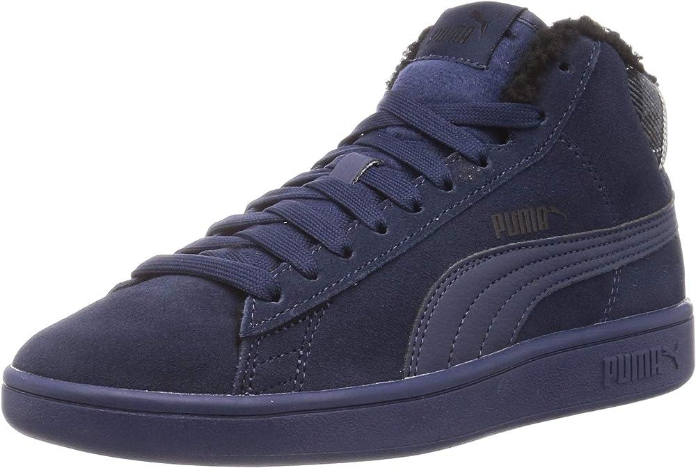 Puma smash v2 mid wtr, sneakers unisex 366810