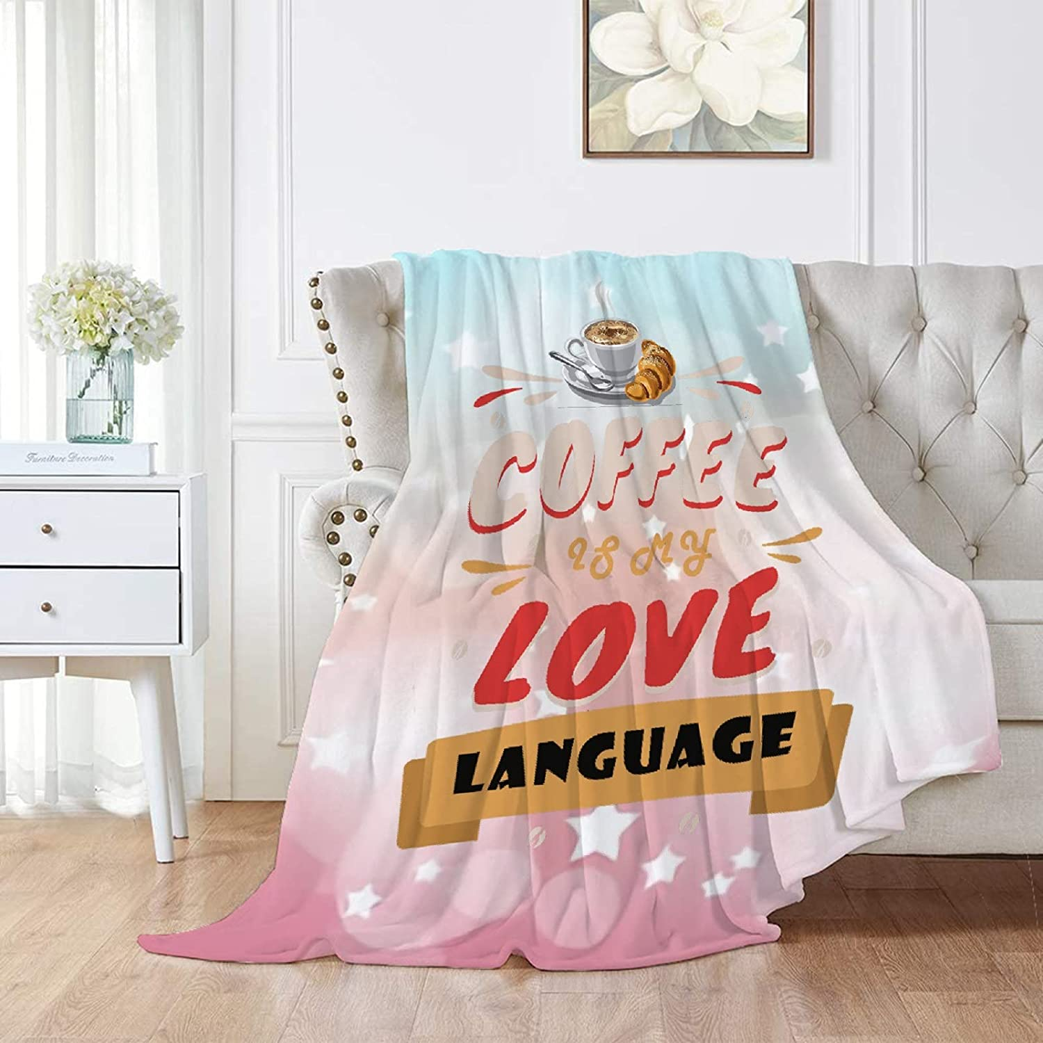 Subhuti Coffee is My Love Lightweight Throws Bl Language New Clearance SALE! Limited time! popularity Flannel