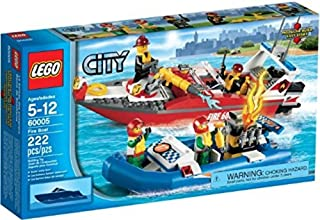 LEGO City 60005 - Barco de Bomberos