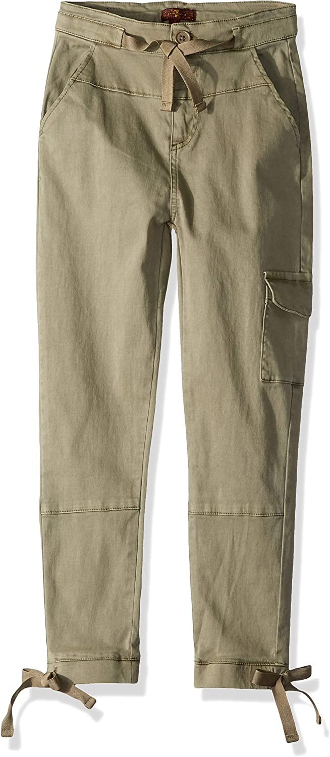 7 For San Antonio Mall All Mankind Girls' Jogger Factory outlet Chantung Pant Silk