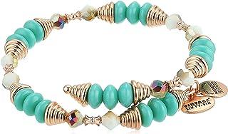 Alex and Ani Women's Haven Wrap Ocean Bracelet