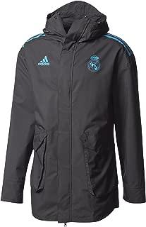 adidas 2017-2018 Real Madrid EU Allweather Jacket (Black)