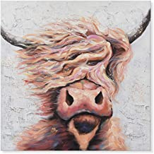 Best highland cow canvas next Reviews