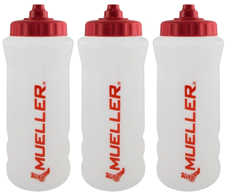 言及する無謀珍味Mueller QuartボトルW / Sureshot Squeeze (新しいデザイン、ナチュラルカラーW /レッドLetters