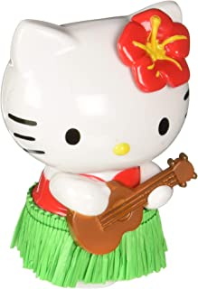 CHROMA 048004 White/Black/Green Hello Kitty Hula Dancer Red Dashboard Auto Ornament