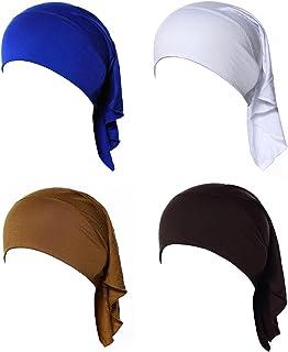 4 X La Mujer Musulmana Mini Interior Hijab Caps Underscarf