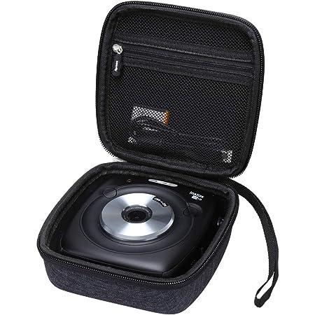 Aproca Hard Storage Travel Case for Fujifilm Instax Square SQ10 SQ20 Hybrid Instant Camera (Dark Blue-New Version)