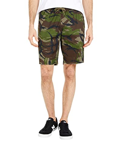 RVCA Weekend Elastic Shorts 19 (Camo) Men