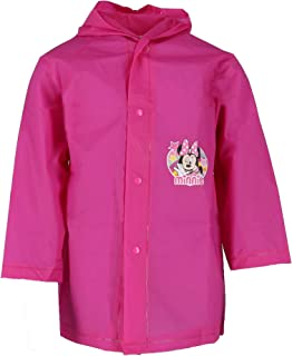 Minnie Mouse Girl`s Waterproof Hooded Raincoat