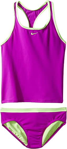 Nike Kids - Core Solid Racerback Tankini (Big Kids)