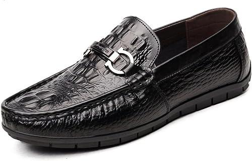 WLFHM Herren Schnürschuhe Atmungsaktiv Frühling Herrenschuhe Driving Peas Schuhe Schuhe