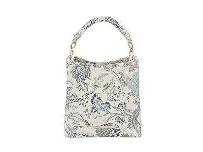 Brahmin Melbourne Mini Amelia Crossbody (Blue Jay) Handbags