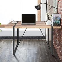 FurnitureR Mesa de Comedor Industrial de Gran tamaño