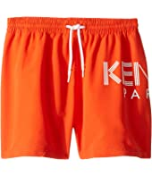 Kenzo Kids - Logo Swim Shorts (Big Kids)