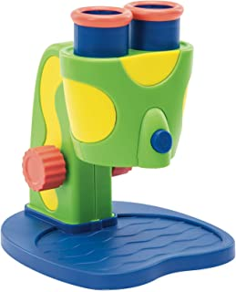 Educational Insights GeoSafari Jr. My First Microscope, Extra-Large Dual Eyepieces,..