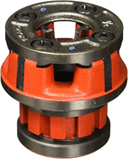 RIDGID 36890 Model OO-R Die Head, 12R Alloy Die Head comes with 1/2-inch High-Speed, Factory Set Dies that Deliver Clean, Precise 14 TPI