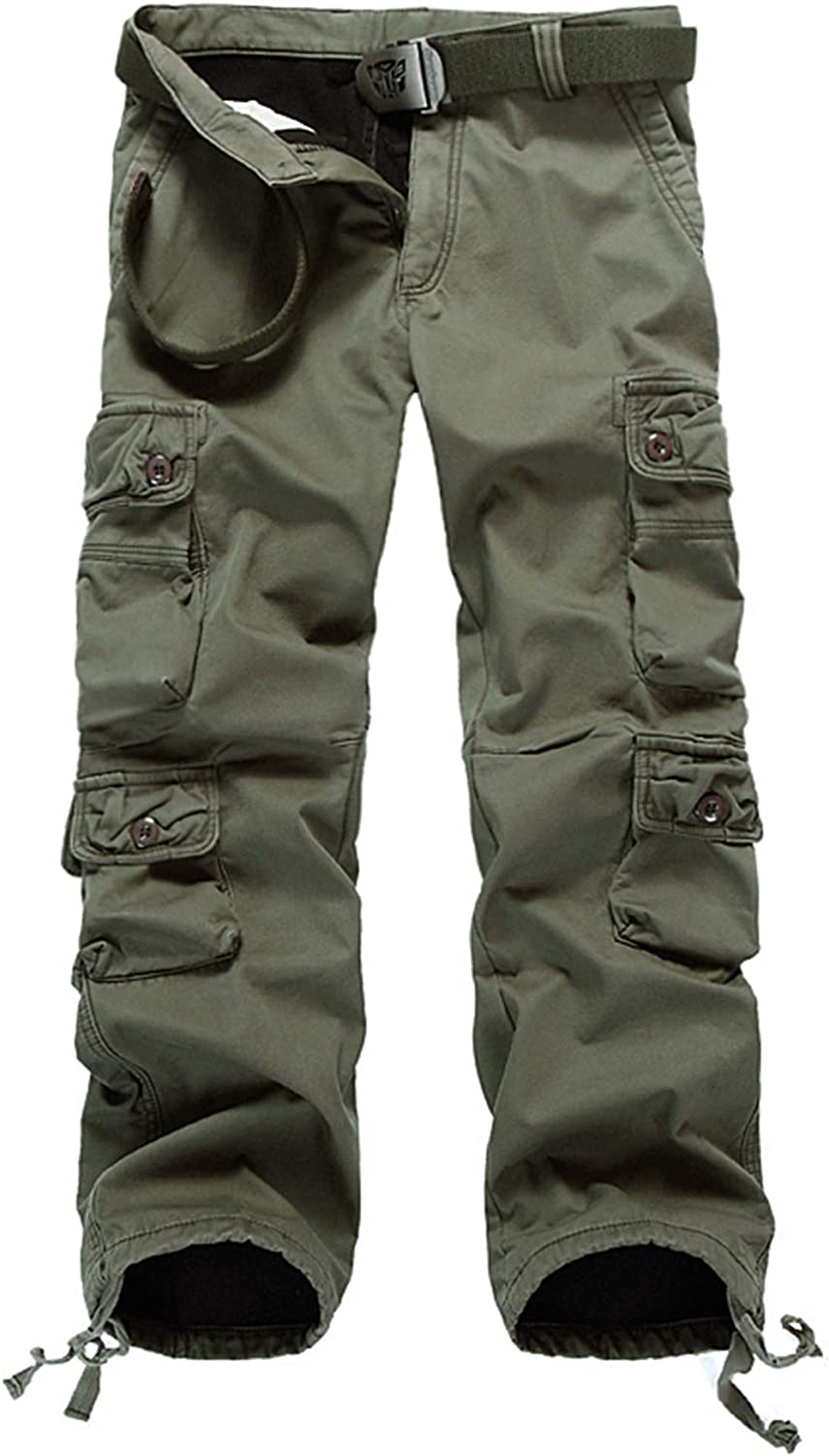 Outstanding DONGD Winter Mens Cargo Pants Lined Max 53% OFF Work Fleece Pant