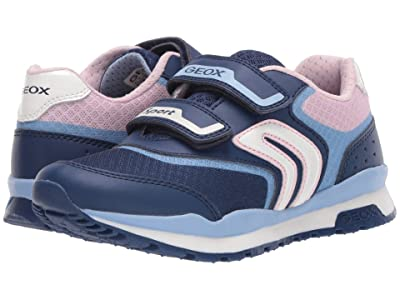 Geox Kids Pavel Girl 3 (Little Kid/Big Kid) (Navy/Avio) Girl
