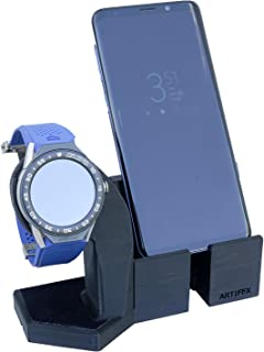 Artifex Design Stand Configured for 2nd Generation TAG Heuer Connected Modular 45 Smartwatch, fits 45mm watch only (Mod45 Combo)