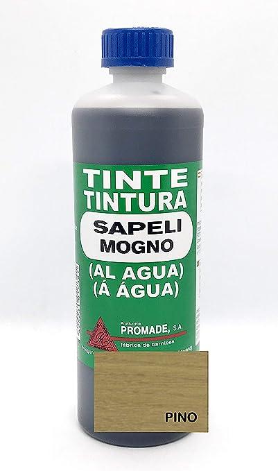 Promade - Tinte al agua para madera 500 ml (Rojo)