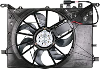 CPP Front Radiator Cooling Fan Assembly for 04-09 Volvo S60 VO3115115