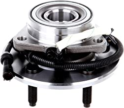 ECCPP Wheel Hub and Bearing Assembly Front 515029 fit 2000-2019 Ford F-150 Ford F-150 Heritage Replacement for 5 lugs wheel hub with ABS 3 Bolt Flange 1 piece