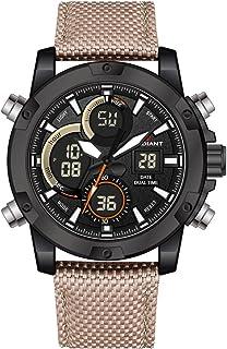 Radiant new brixton Mens Analog/digital Quartz Watch with Nylon bracelet RA456603