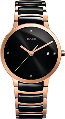 Two-Tone Black/Rose Gold