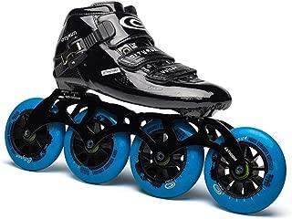 Original Professional Speed Roller Skates for Kids Adult Carbon Fiber 4 Wheel Racing Speed Skating Shoes