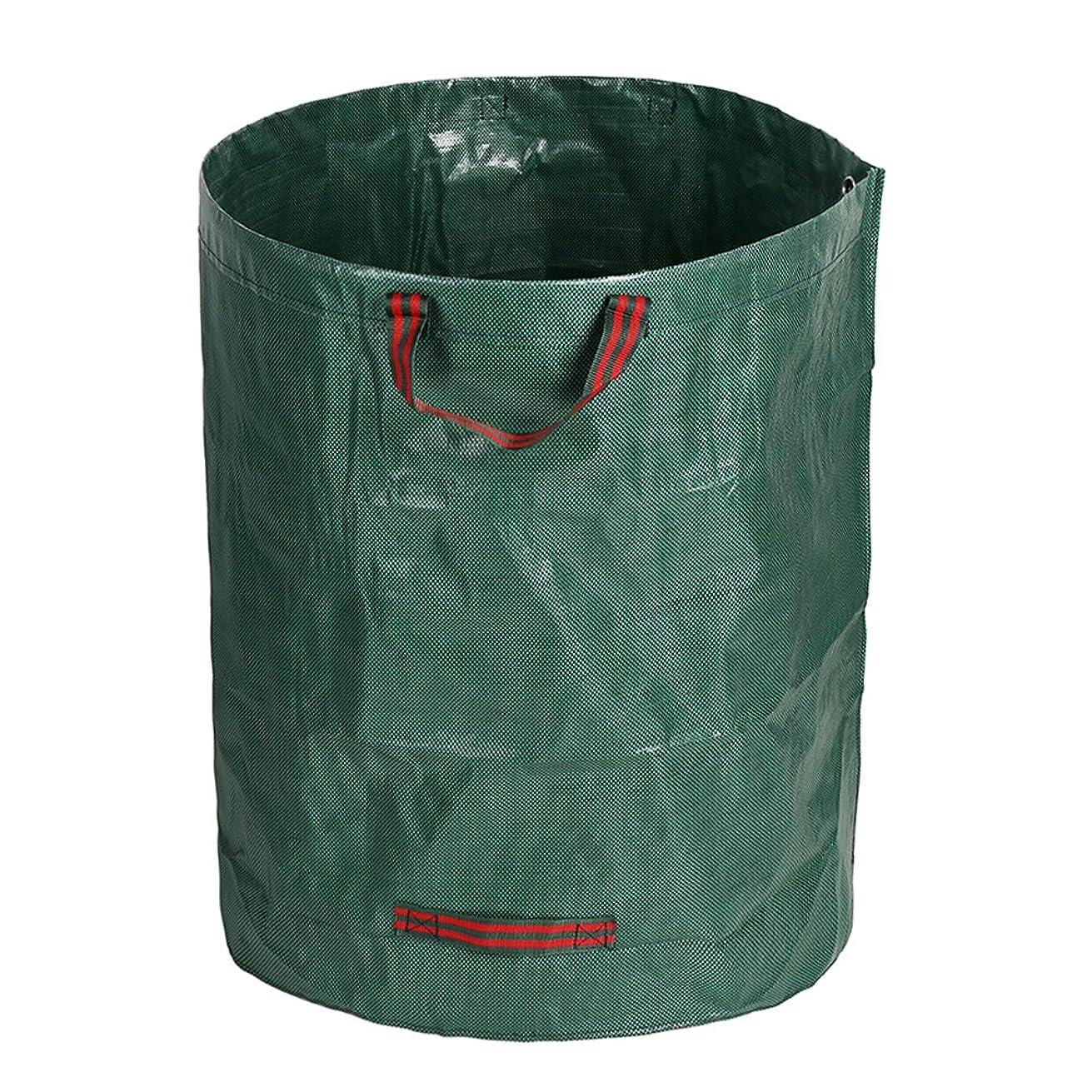 つづり助言外科医Scorpiuse1_jp ガーデンバケツ ガーデンバッグ 折り畳み 収穫袋 自立式 直径67cm 深さ76㎝ 超大容量262L 集草バッグ お庭の清掃 収納専用バッグ