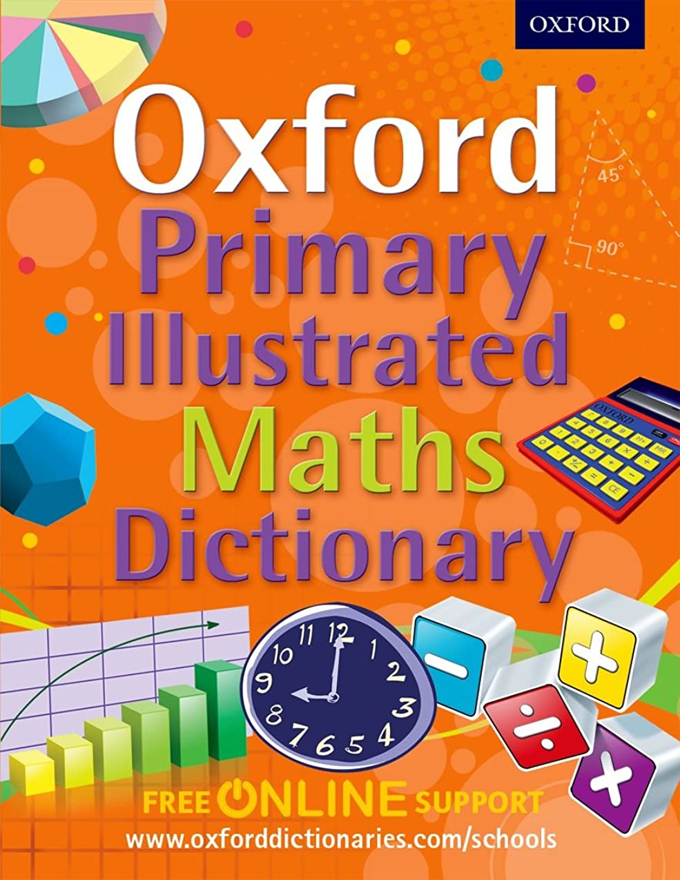 保安予防接種公Oxford Primary Illustrated Maths Dictionary (Oxford Dictionary)