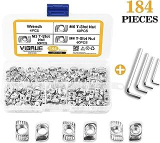 M6 M10 M5 zinc bzp kits comprend 50 rondelles M8 M12 nyloc /& full nuts M4