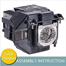 LOUTOC Projector Lamp Bulb V13H010L96 for Epson ELPLP96 Powerlite Home Cinema 2150 2100 660 1060 60hd VS250 VS350 VS355 EX9210 EX9220 EX3260 EX5260 EX7260 X39 W39 S39 109W