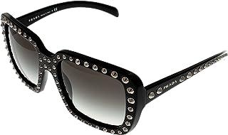 4cde8ce92e48a Prada Sunglasses Women Black Square PR30QS 1AB0A7