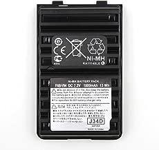1800mAh Ni-MH Two-Way Radio Replacement Battery Pack for Yaesu/Vertex Radios FNB-83 FNB-V94 FNB-V57 FNB-64 FT-60R VX-150 VX-160 VX-170 VX-180 VX-410 VX-420 VX-420A FT-270