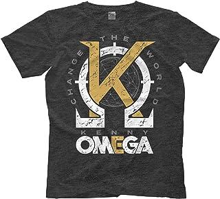 Licensed Kenny Omega Golden K AEW All Elite Wrestling Adult T-Shirt