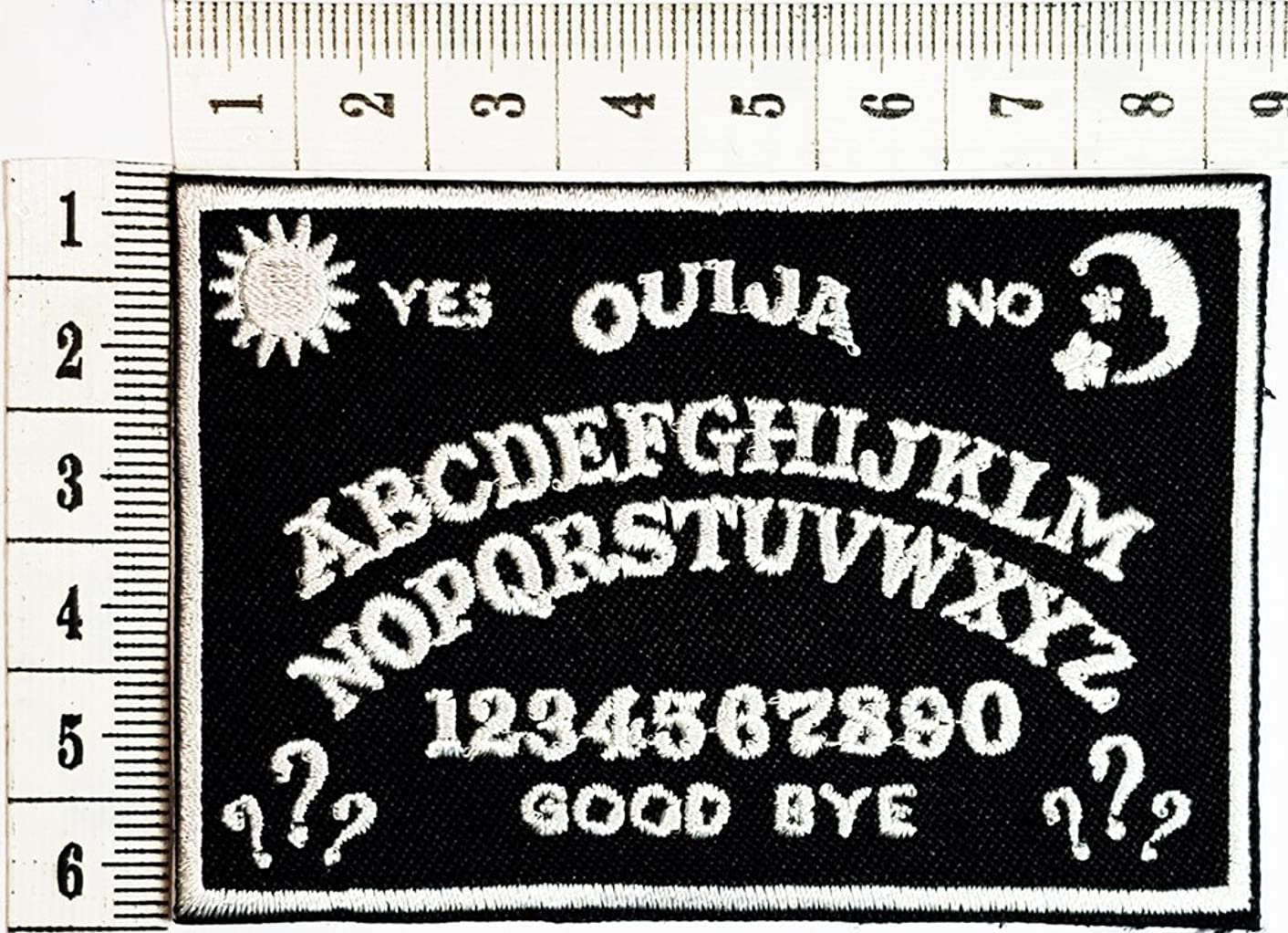 ABC Funny patch Motorcycles Outlaw Hog MC Biker Rider Hippie Punk Rock iron on patch / Sew On Patch Clothes Bag T-Shirt Jeans Biker Badge Applique