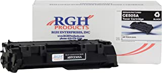 RGH Products(TM) Remanufactured ABTCE505A Toner Cartridge, Replaces HP Laserjet 05A/ CE505A, for use in HP CM3530 MFP, CM3525 MFP, P2035, P2035n, P2050, P2055, P2055d, P2055dn