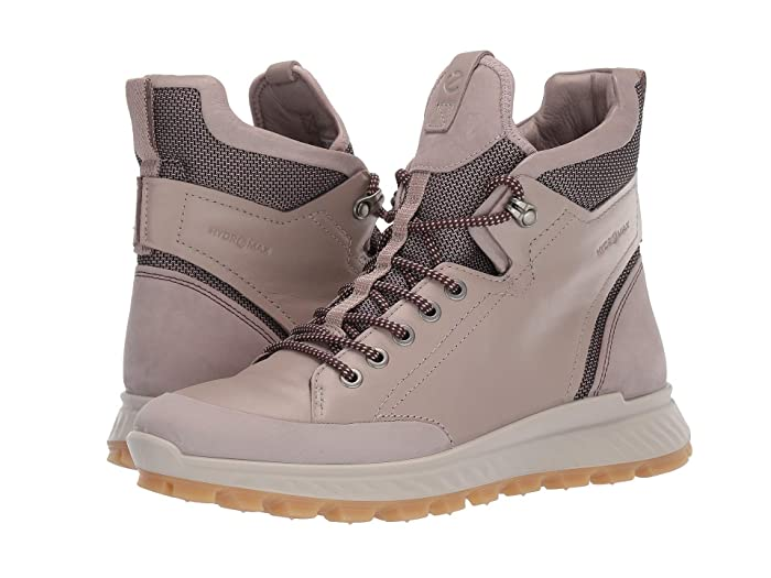 ECCO Sport  Exostrike Outdoor Ankle Boot (Grey Rose/Grey Rose) Womens Hiking Boots