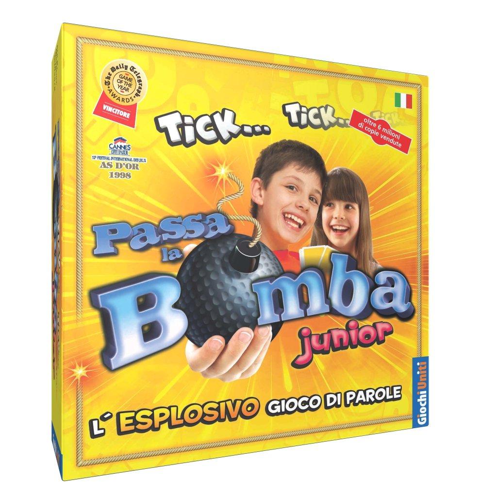 Giochi Uniti Passa la Bomba Junior - Juego de Mesa (en Italiano) [Importado de Italia]: Amazon.es: Juguetes y juegos