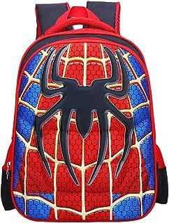 School Backpack Kids Schoolbag Student Bookbag with 3D Anime Super Hero Design