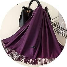 Women Scarf Warm Shawl Foulard Femme Pashmina Kerchief Wool Stole Head Neck Long Winter Scarf