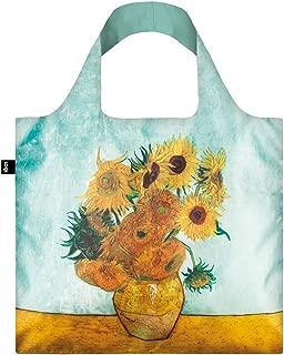 LOQI LQB1-MUVGSU Museum Shopping Bag, Sunflowers, L Capacity