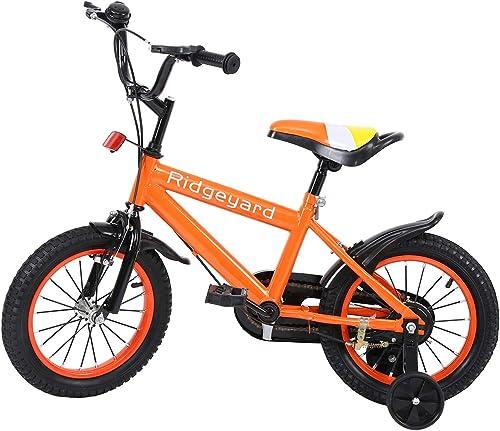 40% de descuento MuGuang 14 Pulgadas Pulgadas Pulgadas Bicicleta Infantil Estudio Aprendizaje Montar a Caballo Bicicleta Niños niñas Bicicleta con ruedines con Campana por 3-8 años  entrega de rayos