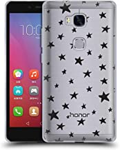 Official The Native State Stars Doodles Soft Gel Case Compatible for Huawei Honor 5X / GR5