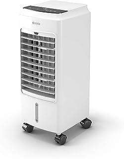 Olimpia Splendid 99308 Peler 4D Ventilador Enfriador Refrigerador con mando a distancia, temporizador y bidón de 4 litros, 350 m3/h, 75 W, blanco