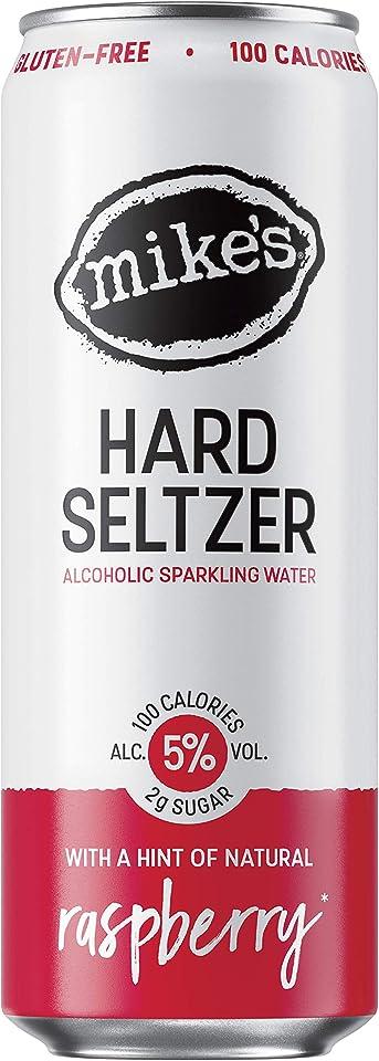 Mikes Hard Seltzer Raspberry Can, 1 x 330 ml